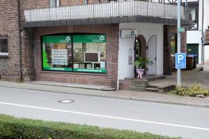 Schaufenster Büro